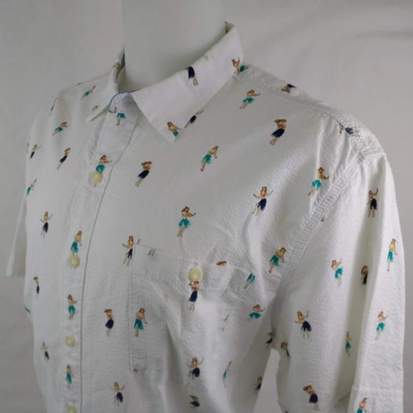 fd165894 Tommy Bahama White Textured Hula Girl Shirt. M_5b92c23aaa5719f056f7a429